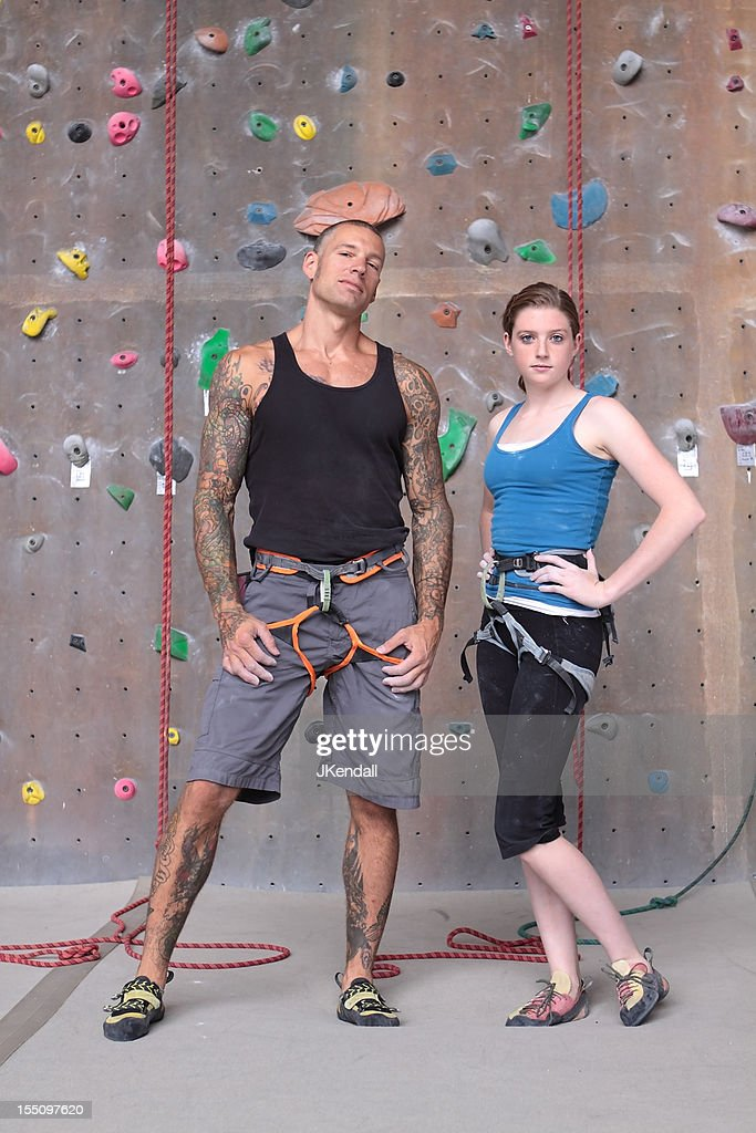young vs old picture id155097620?s=612x612 climbing tattoos stock photos and pictures getty images Sexy Climbing Harness at reclaimingppi.co
