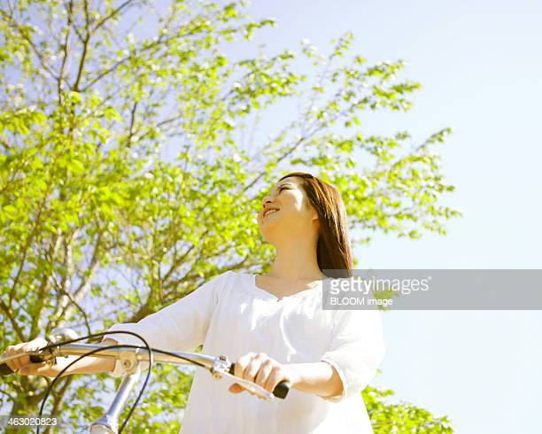 Young With A Bicycle