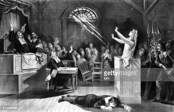 the role of the puritan church in the salem witch trials What were the salem witch trials and why are they so famous  even church  members accused other church members, of witchcraft, like black  the people  of salem were puritan christians  in august 1706, ann putnam, who was 12- years old in 1692, asked for forgiveness for the role she had in.
