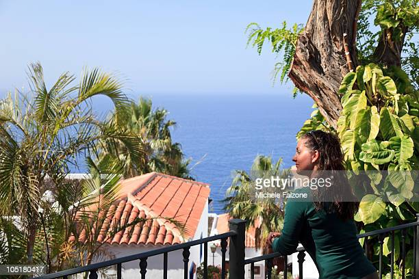 Young Woman (25-30) at beach resort