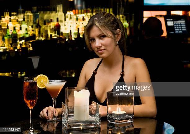 Young Woman at the Bar