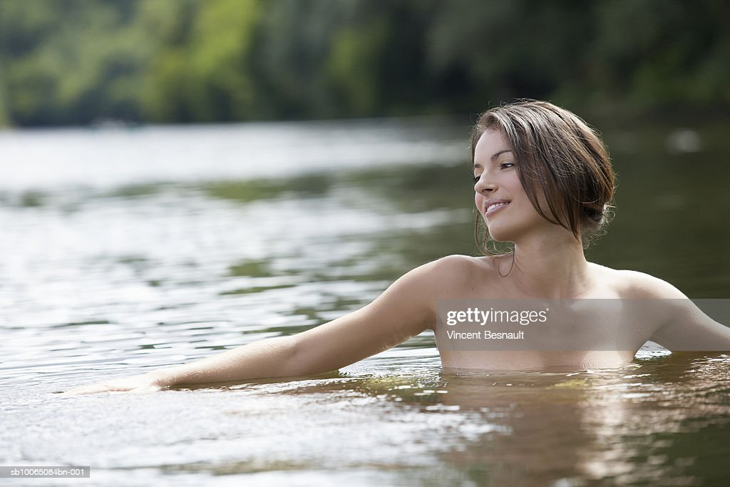 from Case images of nude women by a stream