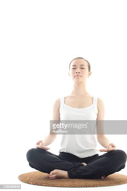 young woman beauty,yoga