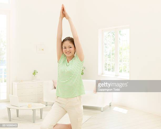 Young Woman Exercising