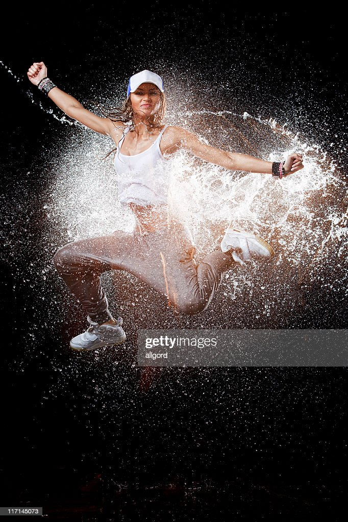 Dancing splash. : Stock Photo