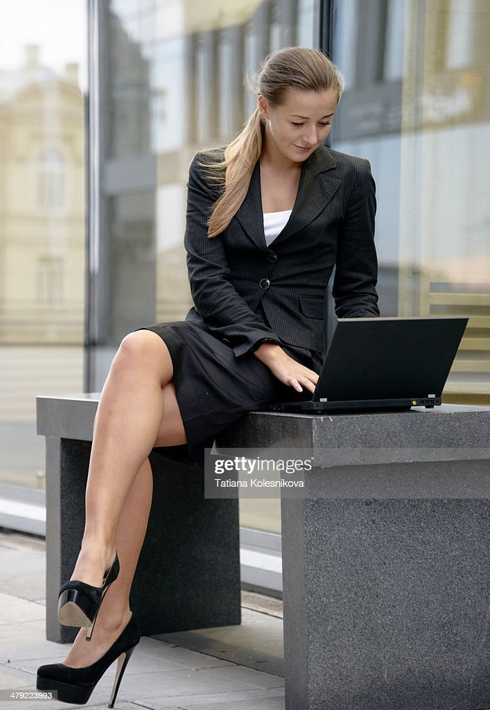 Young woman in business : Stock Photo