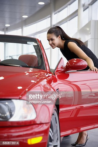 Car With Open Headlights Stock Photos And Pictures Getty