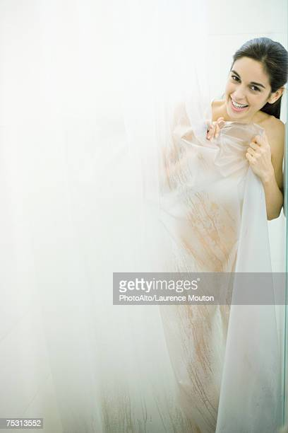Shower Curtain Stock Photos And Pictures Getty Images