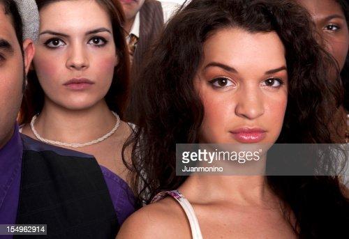 Jeune femme (real personnes