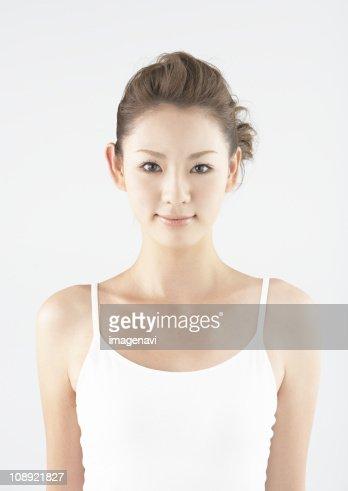 A young woman, portrait
