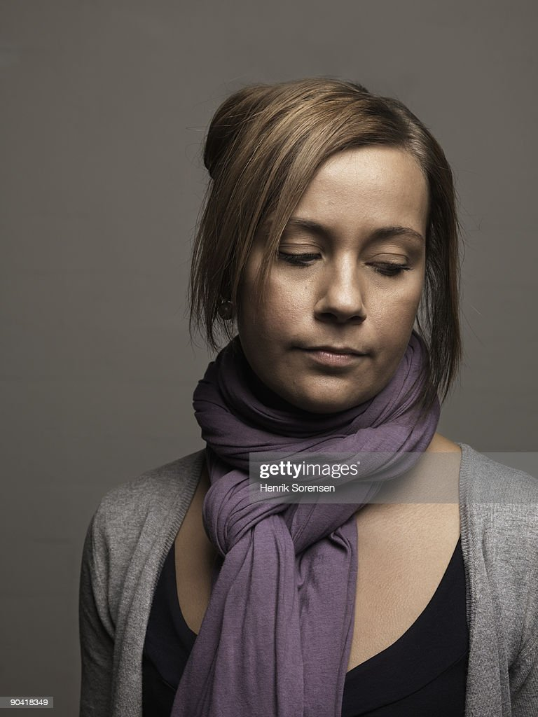 young woman - portrait : Stock Photo