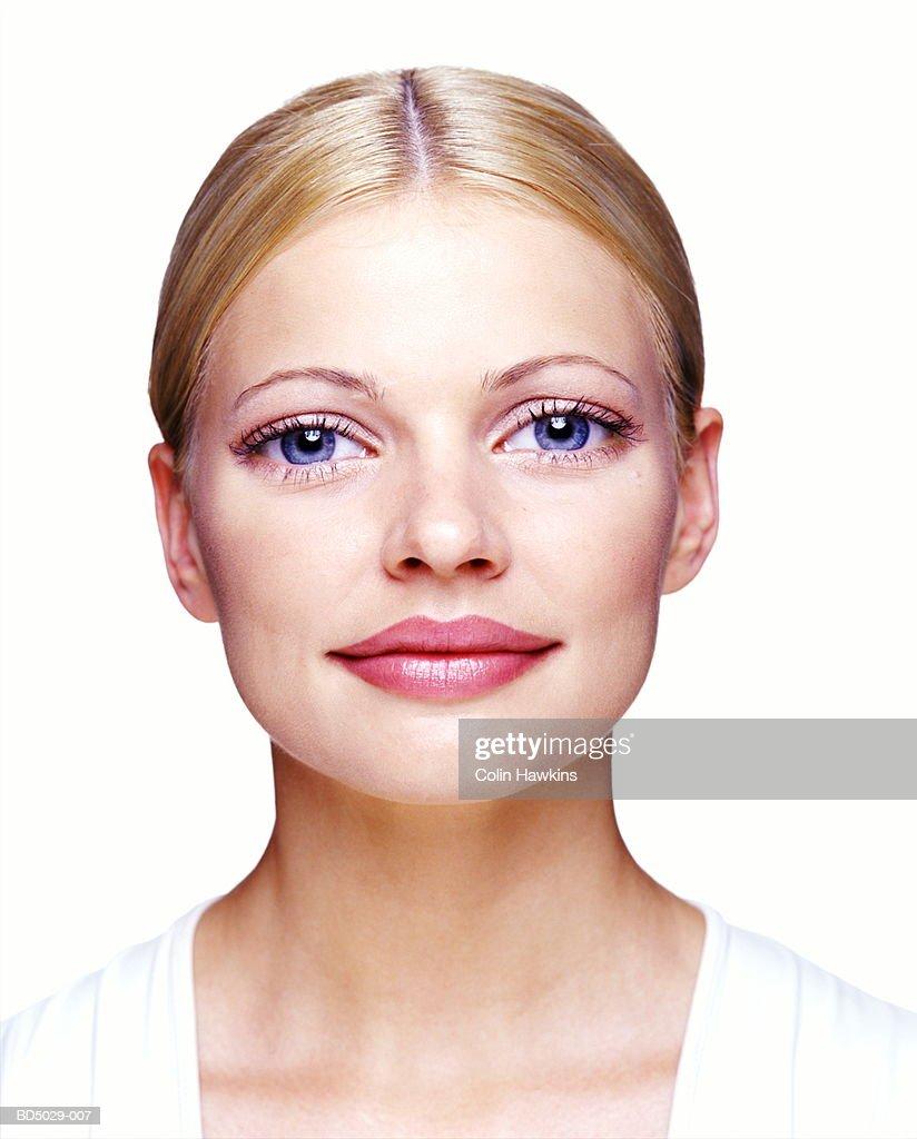 Young woman, portrait (Digital Enhancement) : Stock Photo