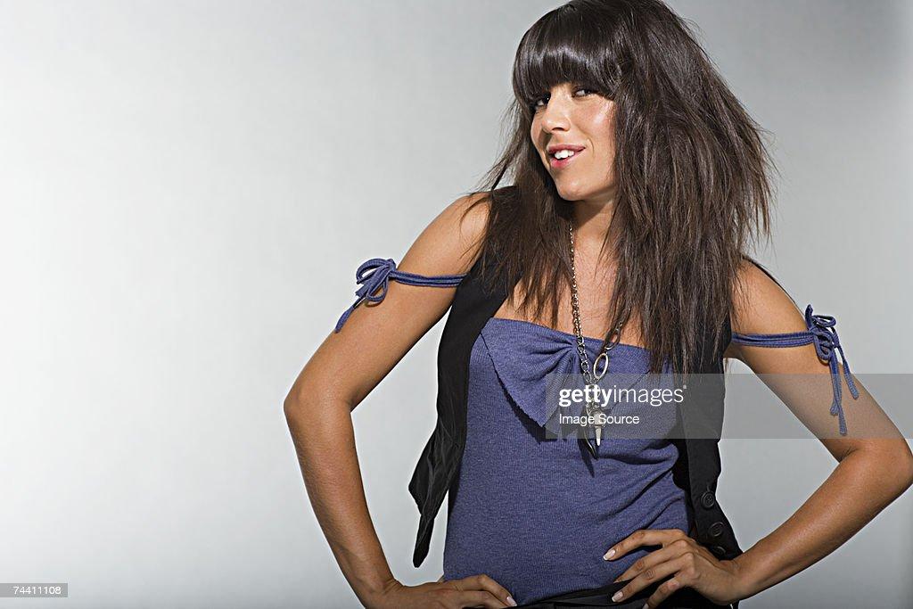 Young woman posing : Stock Photo