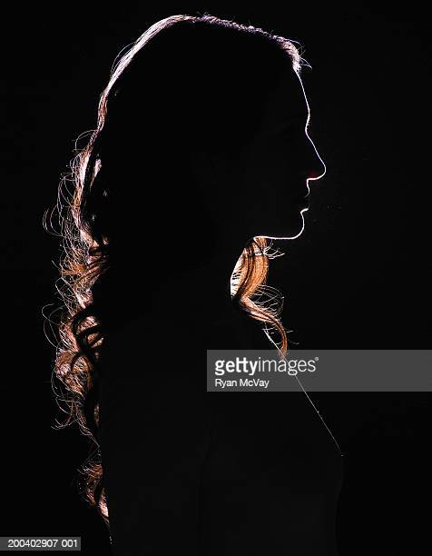 Young woman, profile