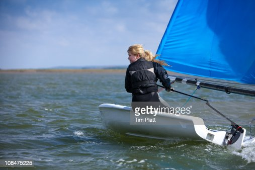 Sailing Dinghy Stock Photos And Pictures Getty Images
