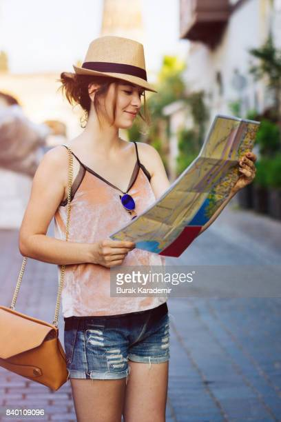 Young woman traveling