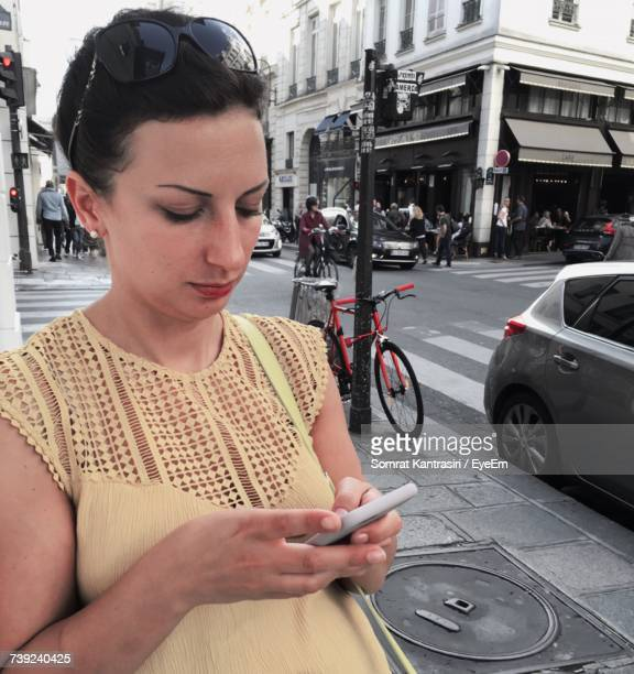 Young Woman Using Phone