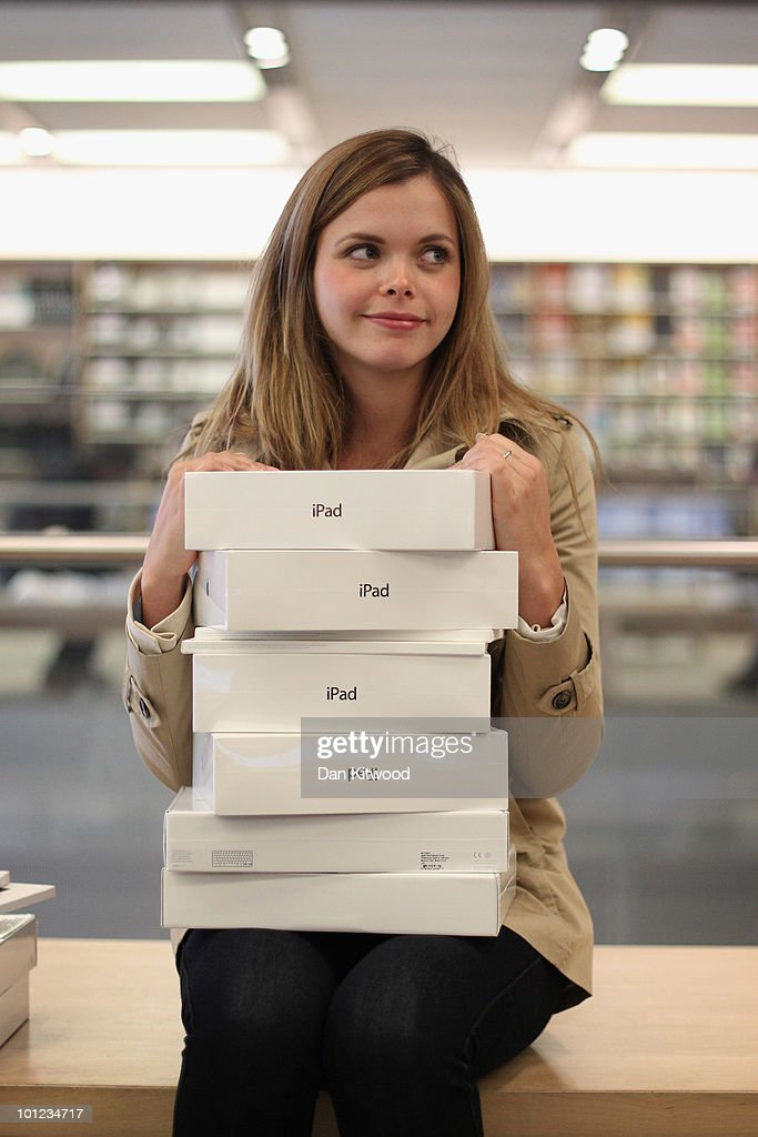 A young woman waits to purchase Apple iPads in Regent Street's Apple store on May 28, 2010 in London, England. Apple iPads went on sale today in countries including Japan, Australia, Germany, Italy, Canada, Switzerland and the United Kingdom as part of Apple's global roll-out of the hugely successful new device.