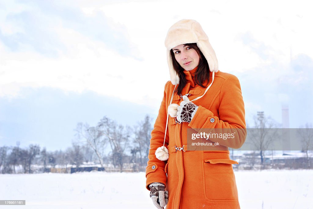 Manteau femme hiver russe