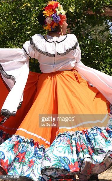 Young woman with cinco de mayo attire