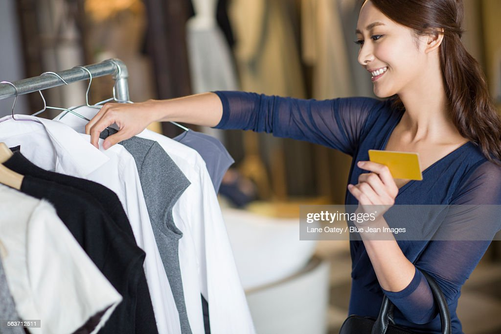 Clothing store credit card