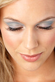 Young Woman With Glamorous Make-Up