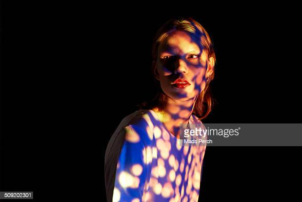 Young Woman with interesting lighting