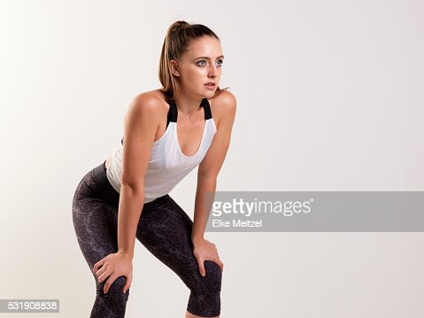 young woman working out : Stock Photo