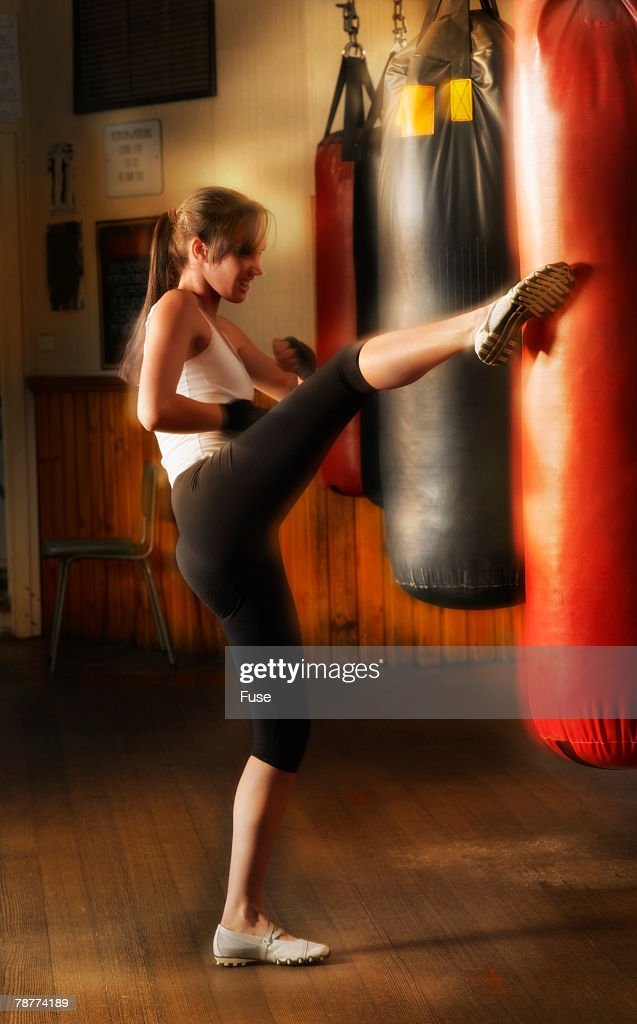 how to work out with a punching bag