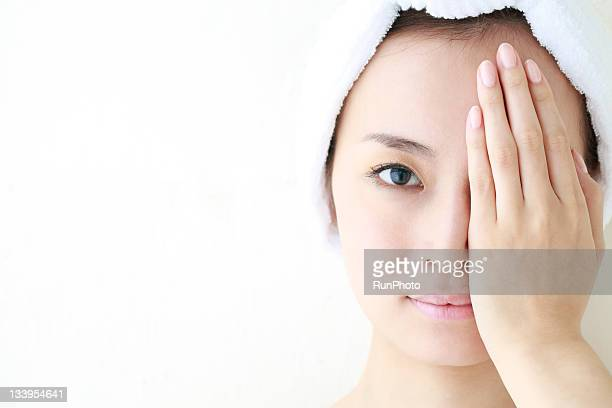 young woman,natural portrait