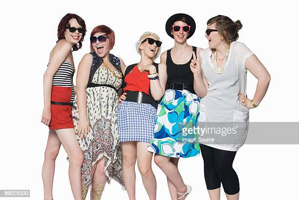 Young women in sunglasses