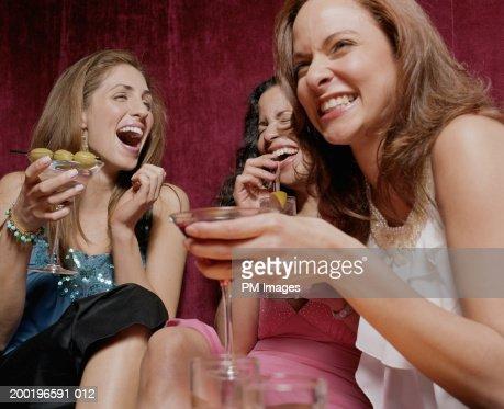 Young women laughing : Stock Photo