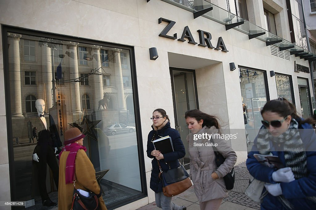 Young women walk past a Zara clothing store on December 7, 2013 in Sofia, Bulgaria. Restrictions on the freedom of Bulgarians and Romanians to work in the European Union are due to run out by December 31, though several EU leaders, including British Prime Minister David Cameron, are considering imposing temporary restrictions to cut the flow of Romanians and Bulgarians arriving in EU countries. Many EU nations have voiced concern over too many Bulgarians and Romanians arriving and applying for social benefits. Romania and Bulgaria are both EU members though their citizens do not yet receive the same rights as citizens of other EU nations.
