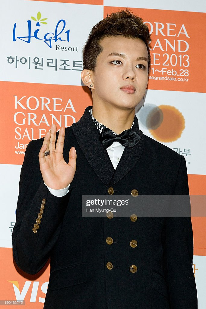Young-Jae of South Korean boy band B.A.P attends the 22nd High1 Seoul Music Awards at SK Handball Arena on January 31, 2013 in Seoul, South Korea.