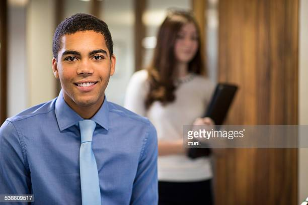 youngmale office worker
