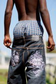 A youngster wears his pants with underwear showing on April 23 2009 in Riviera Beach Florida Recently Palm Beach Circuit Judge Paul Moyle ruled a...