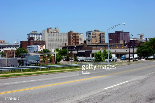 Youngstown Ohio Skyline