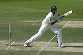 Younis Khan of Pakistan bats during Day Two of the Second Test between Pakistan and Australia at Sheikh Zayed Stadium at Sheikh Zayed stadium on...