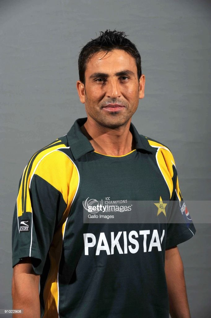 <a gi-track='captionPersonalityLinkClicked' href=/galleries/search?phrase=Younis+Khan&family=editorial&specificpeople=585162 ng-click='$event.stopPropagation()'>Younis Khan</a> poses during the ICC Champions photocall session of Pakistan at Sandton Sun on September 19, 2009 in Sandton, South Africa. Photo by Lee Warren / Gallo Images/Getty Images)