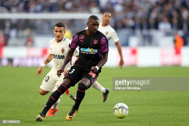 Younousse Sankhare of Bordeaux during the Ligue 1 match between FC Girondins de Bordeaux and AS Monaco at Stade Matmut Atlantique on October 28 2017...