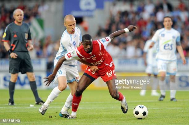 Younousse SANKHARE Renaud COHADE Strasbourg / Reims Ligue 2 37e journee
