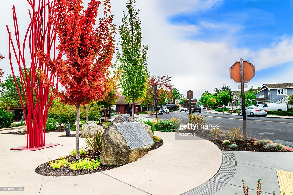 Yountville, California, USA : Stock Photo