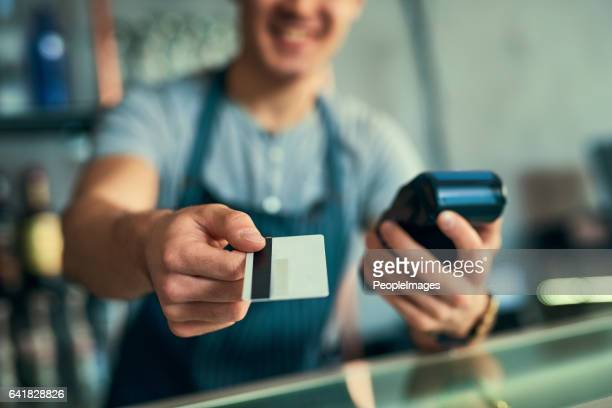 Your card...