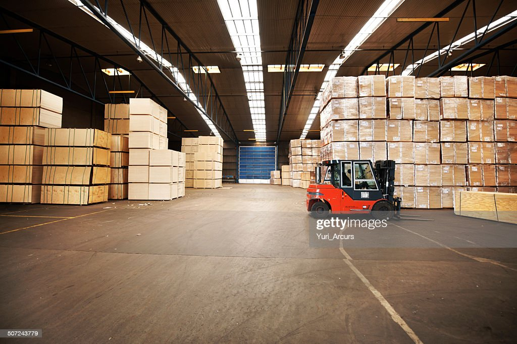 Your goods will be in a safe place : Stock Photo
