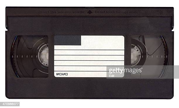 Your message on a tape - isolated videotape