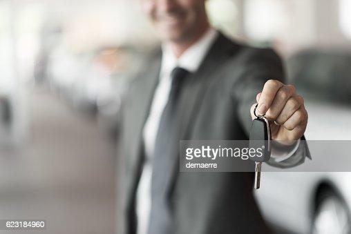 Your new car keys : Stock Photo