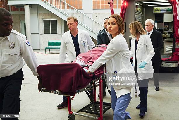 S ANATOMY 'You're Gonna Need Someone on Your Side' Stephanie's relationship to Kyle becomes complicated Meanwhile Meredith encourages Amelia and Owen...