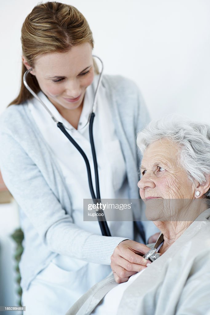 You're in perfect health : Stock Photo