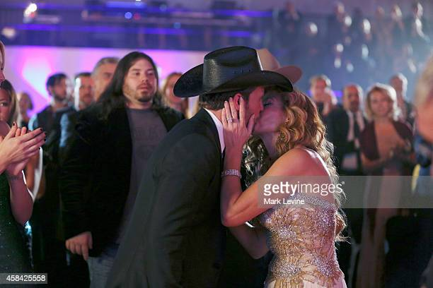 NASHVILLE 'You're Lookin' At Country' It's country music's biggest night of the year at the 48th Annual CMA Awards in Nashville Up for a total of 11...