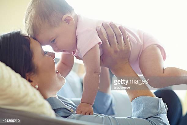 Du bist die Schönste kleine baby in der Welt